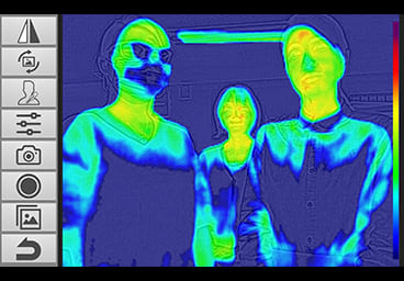 thermography, infrared camera, thermal camera